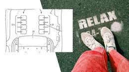 GM Patent Fußmassage