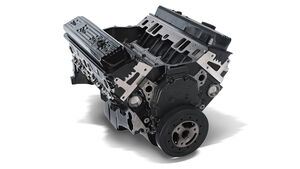 GM Small-Block 350er 5,7-Liter-V8 Crate Engine