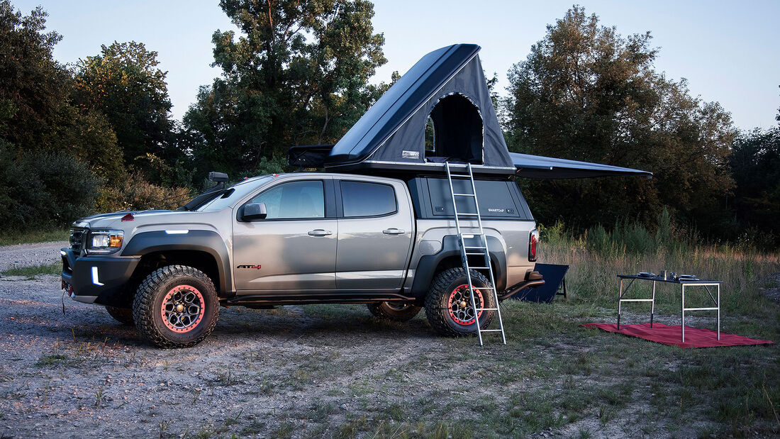 GMC Canyon AT4 OVRLANDX Concept Truck