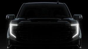 GMC Sierra Teaser Modelljahr 2022