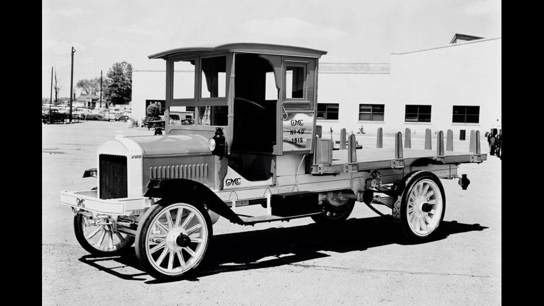 GMC Truck FLATBED, 1915