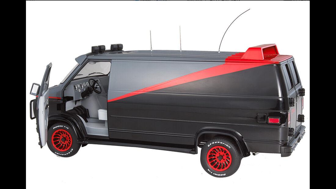 GMC Van, ATeam, Hot Wheel Filmautoklassiker 2013