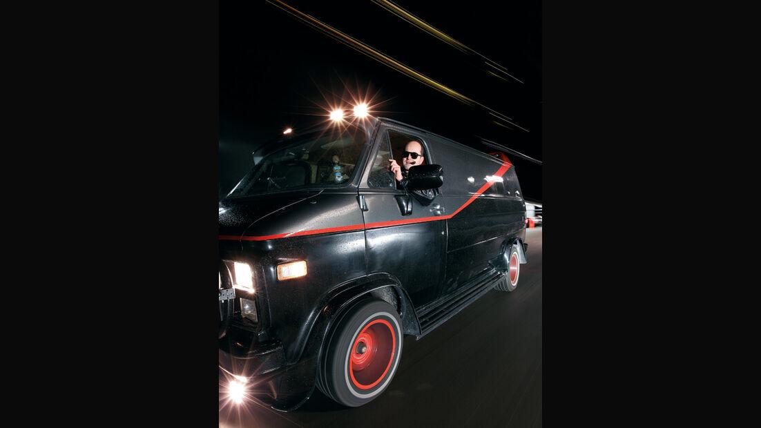 GMC Vandura, Seite, Fahrer