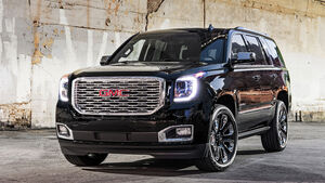GMC Yukon Denali Ultimate Black Edition