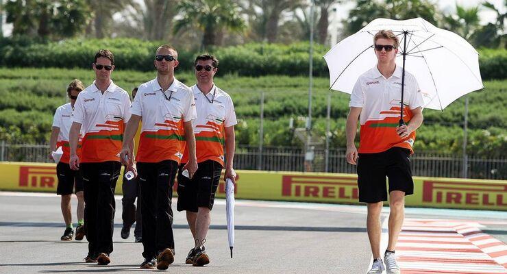 GP Abu Dhabi 2012 Nico Hülkenberg