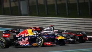 GP Abu Dhabi Sebastian Vettel Jenson Button 2012