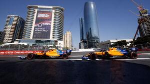 GP Aserbaidschan 2010 - McLaren