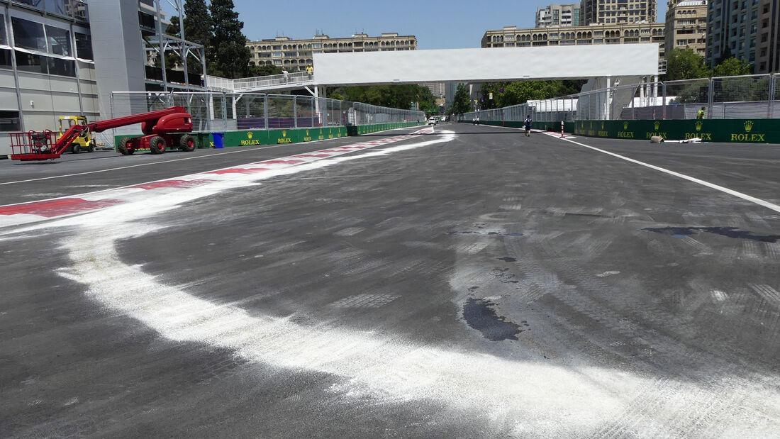 GP Aserbaidschan 2016 - Formel 1