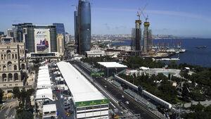 GP Aserbaidschan - Baku - Formel 1 - 2016