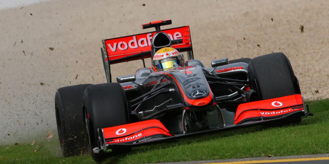 GP Australien 2009 Lewis Hamilton