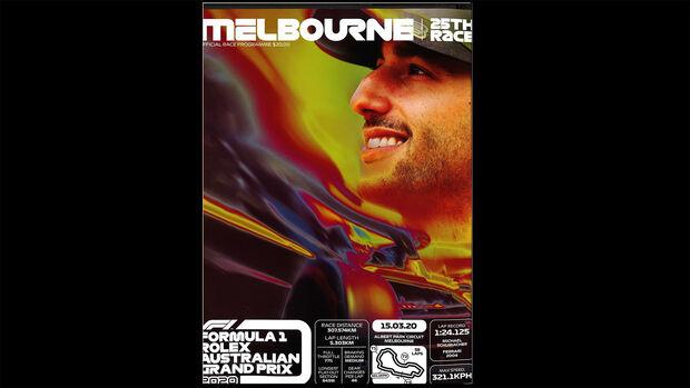 GP Australien 2020 - Programmheft