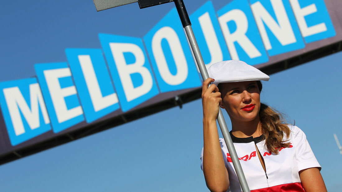 GP Australien Melbourne 2011 Girl Logo