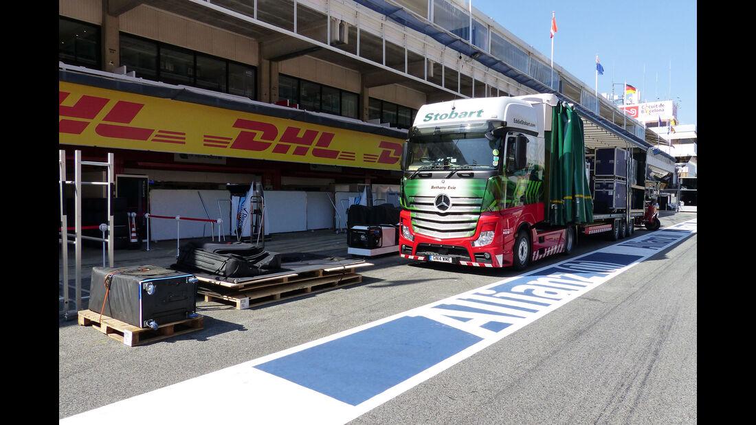 GP Barcelona - Formel 1 - Mittwoch - 6.5.2015