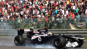 GP Belgien 2012 Pastor Maldonado