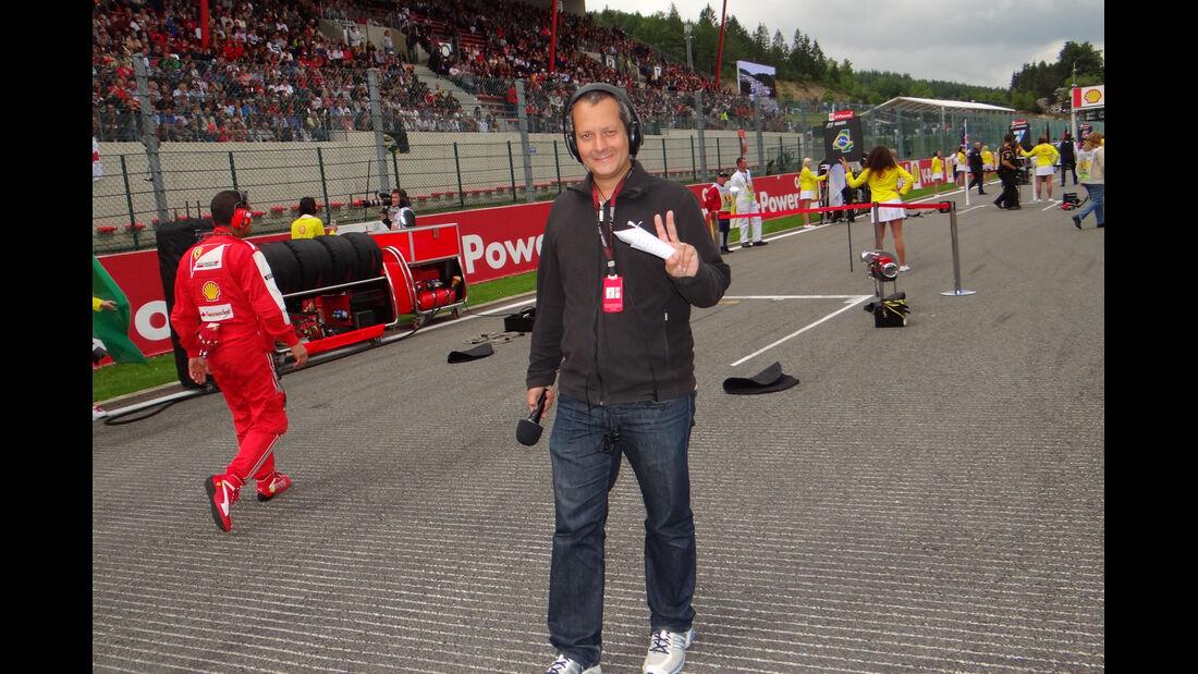 GP Belgien 2013 - Formel 1-Tagebuch
