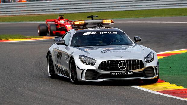 GP Belgien 2018 - Safety Car - Bernd Mayländer - Formel 1