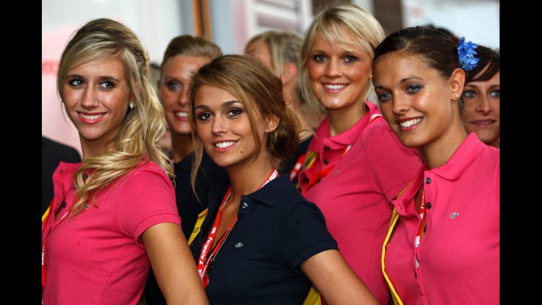 GP Belgien-Girls