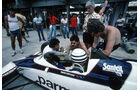 GP Brasilien 1983 - Brabham-BMW BT52 Turbo - Riccardo Patrese - Nelson Piquet - Gordan Murray - Charlie Whiting - Formel 1