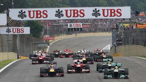 GP Brasilien 2013 - Start