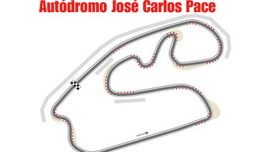 GP Brasilien - Interlagos - Formel 1