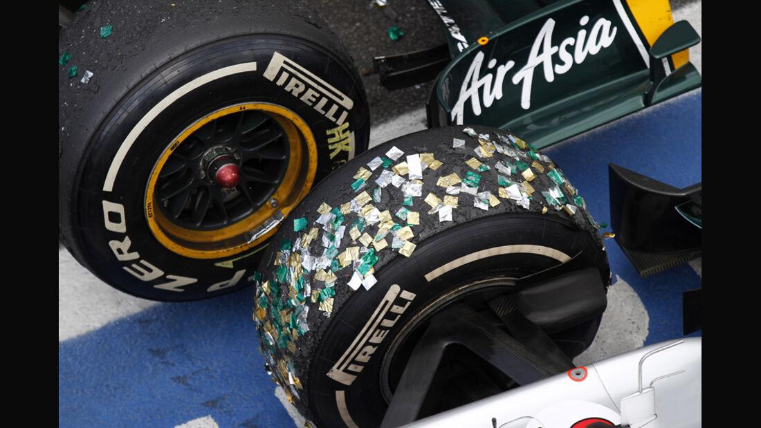 GP Brasilien Pirelli 2011