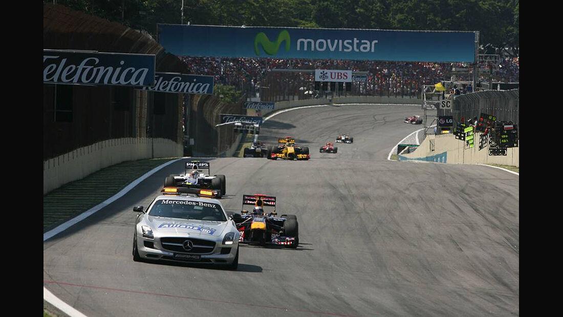 GP Brasilien Safety Car 2010