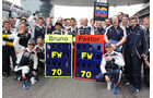 GP China 2012 Williams Geburtstag