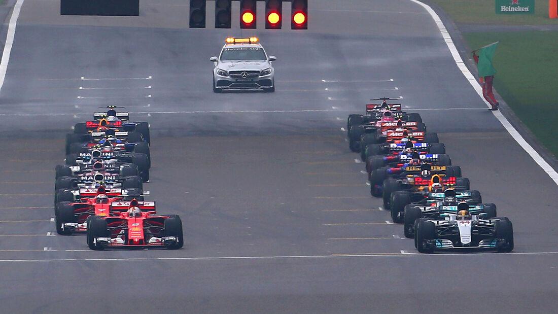 GP China 2017 - Shanghai - Start