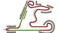 GP China Shanghai Strecke DRS Zone 2013