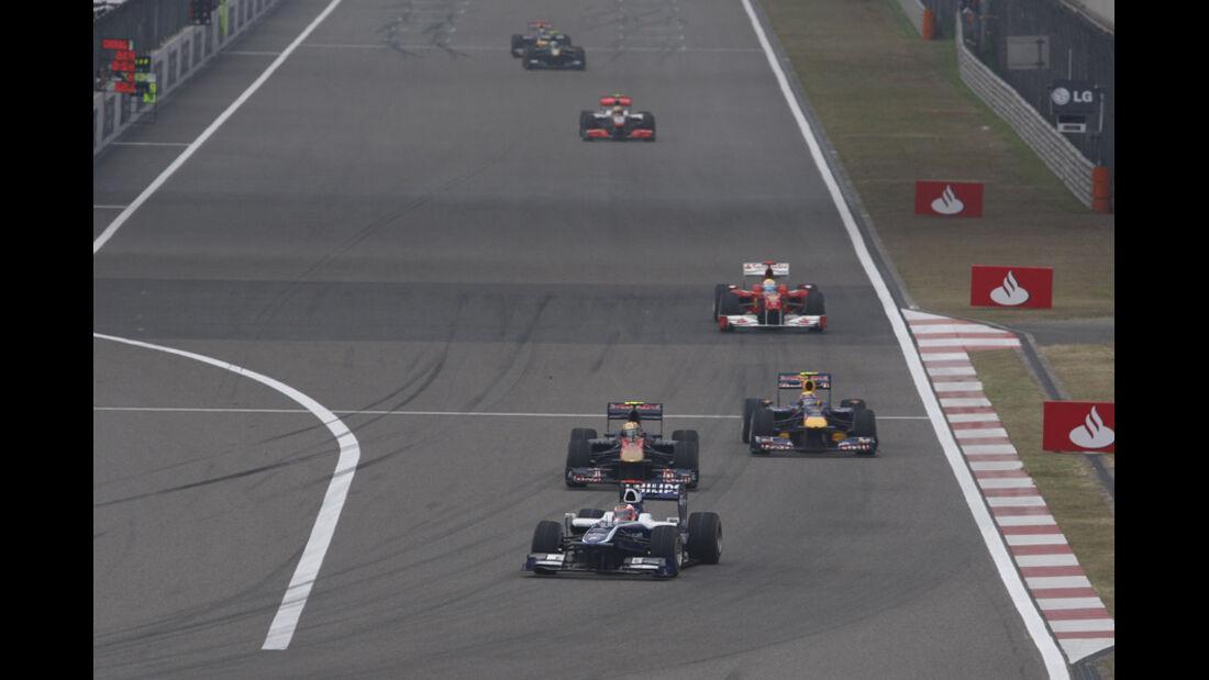 GP China Zielgerade 2010
