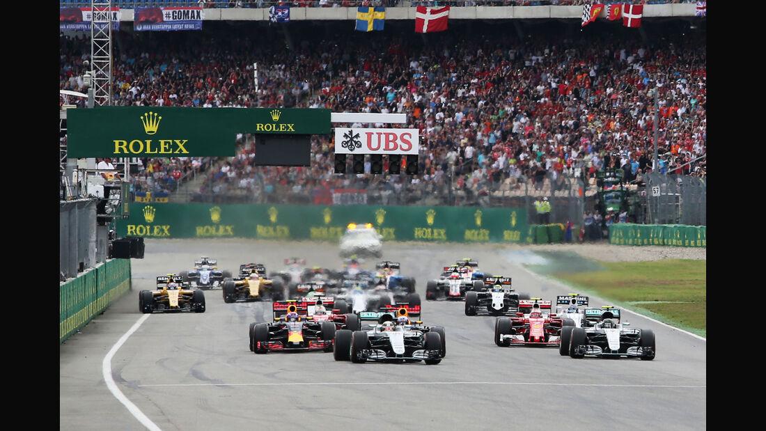 GP Deutschland 2016 - Rennen - Start
