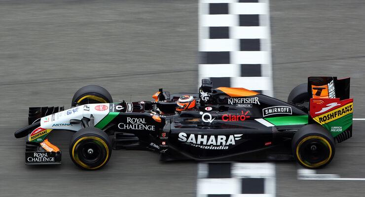 GP Deutschland - Nico Hülkenberg - Formel 1 - 2014