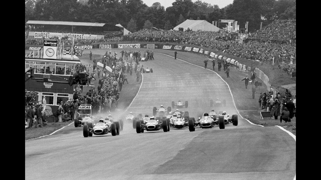 GP England 1968 - Brands Hatch - Jack Brabham - Denny Hulme - Dan Gurey - Formel 1