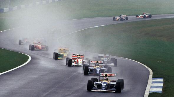 GP Europa 1993 - Donington - Startrunde
