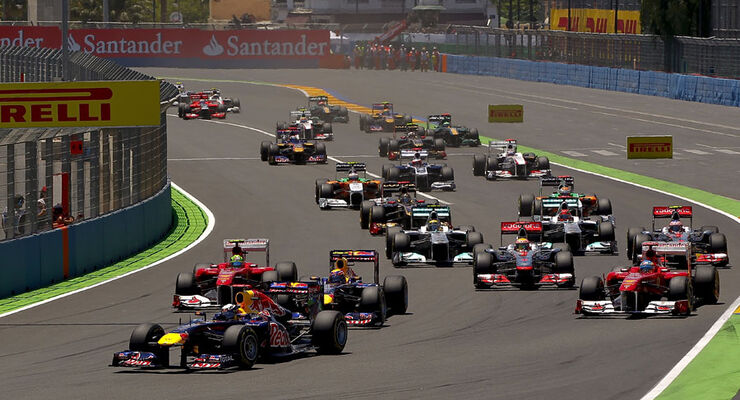 GP Europa 2011 - Start