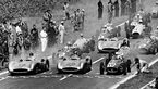 GP Frankreich 1954 - Reims - Start - Mercedes W 196 R