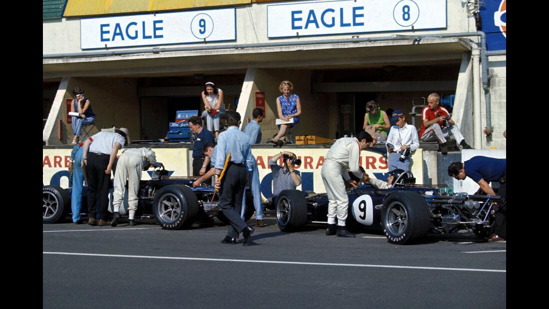 GP Frankreich 1967 - Eagle - Box