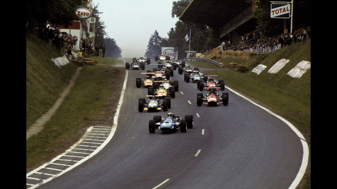 GP Frankreich 1968 - Rouen