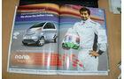 GP Indien 2011 Karthikeyan Werbung