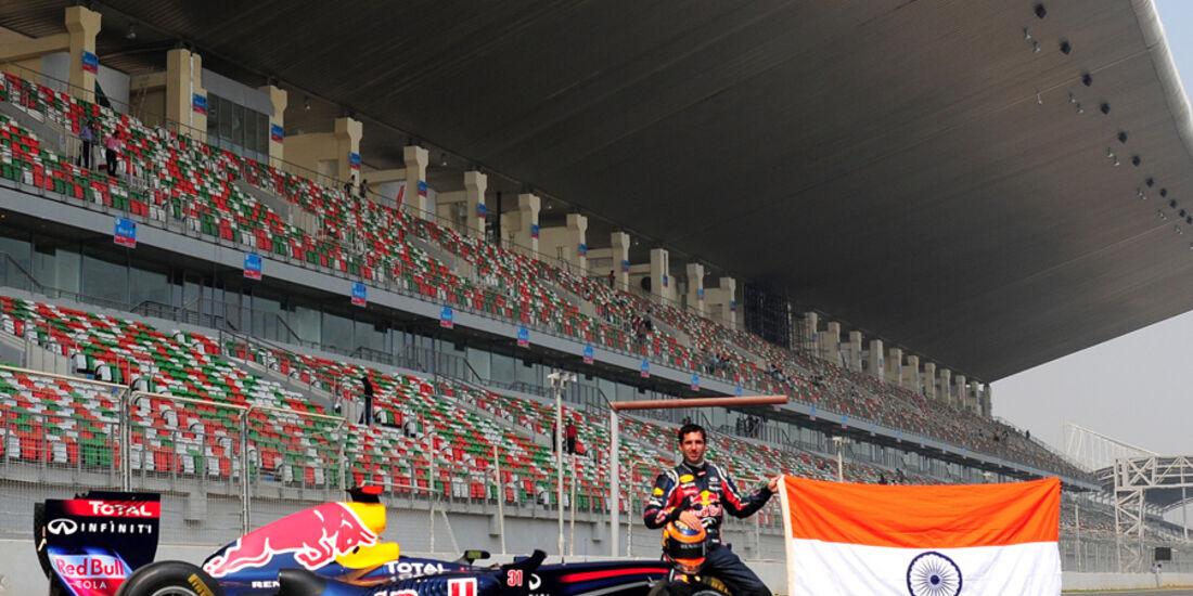 GP Indien - Eröffnung