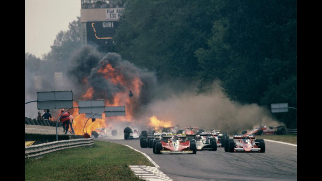 GP Italien 1978 - Startcrash