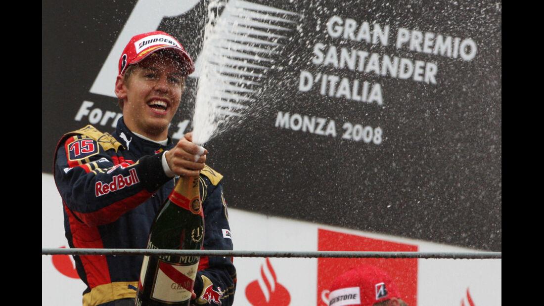 GP Italien 2008 Vettel