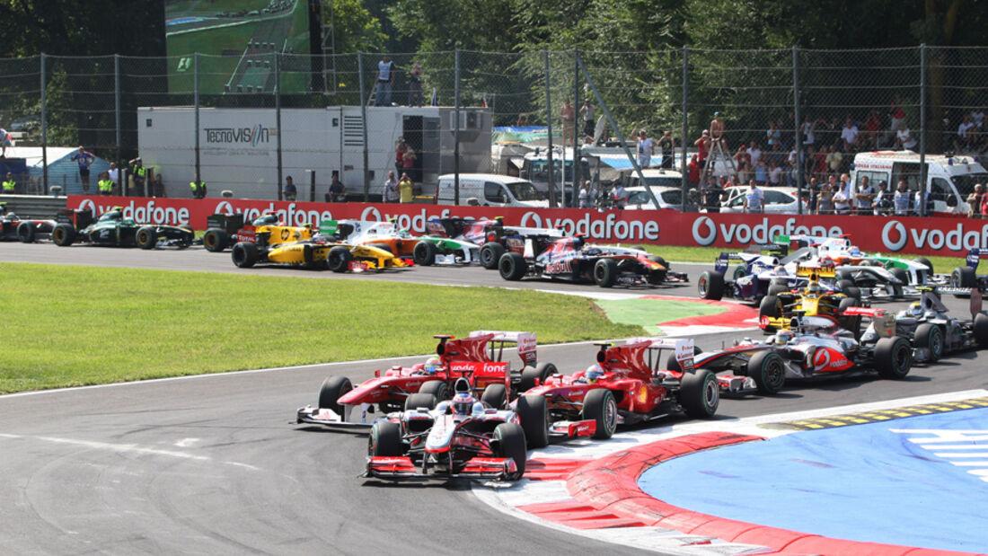 GP Italien 2010 - Start