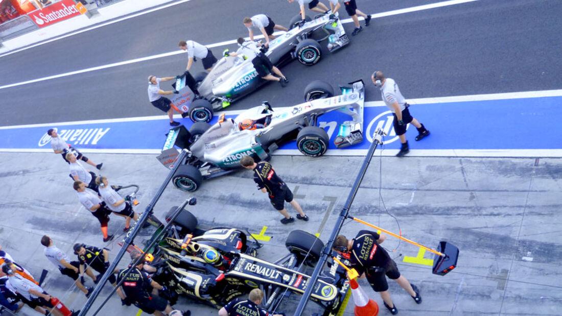 GP Italien 2011 - Training 1