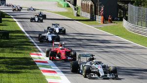 GP Italien 2015 - Monza - Startrunde - Sonntag - 6.9.2015