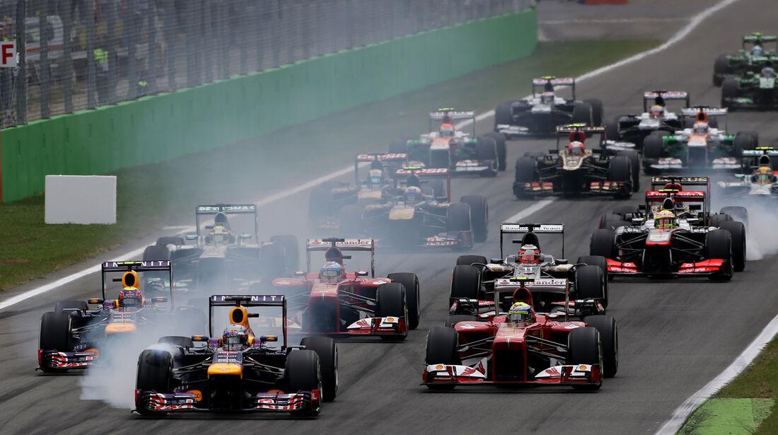 GP Italien - Formel 1 - 2013