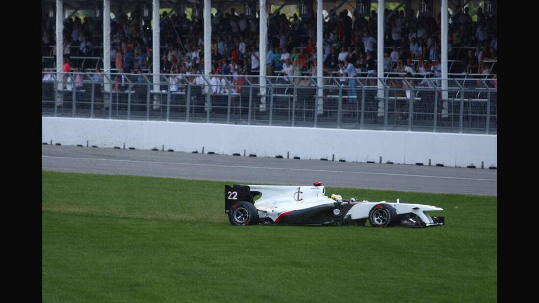 GP Kanada 2010 De la Rosa