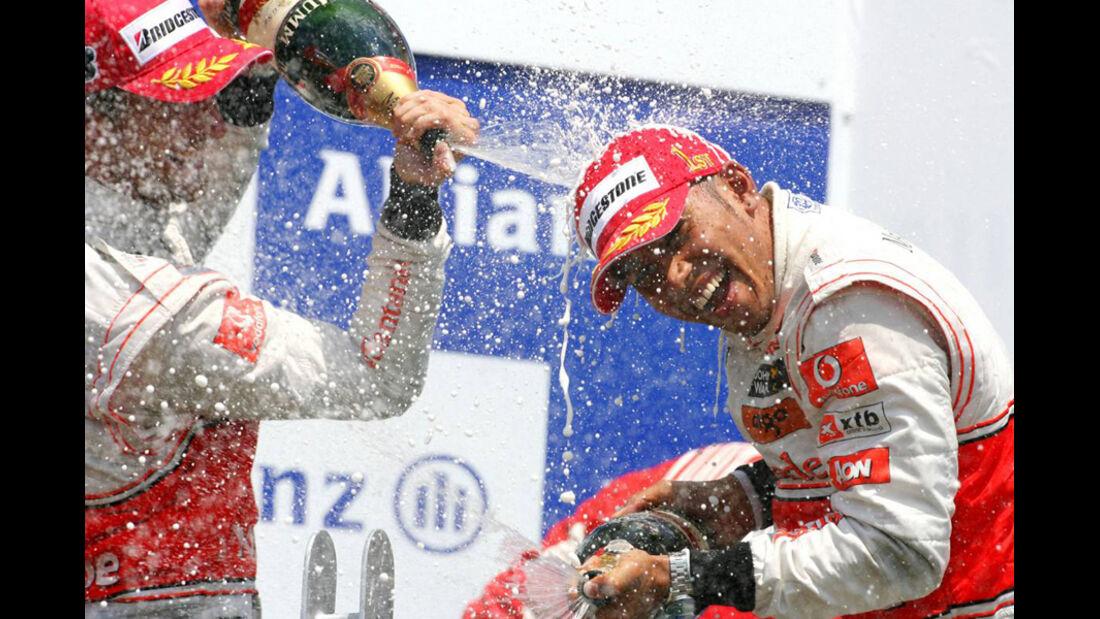 GP Kanada 2010 Hamilton Button