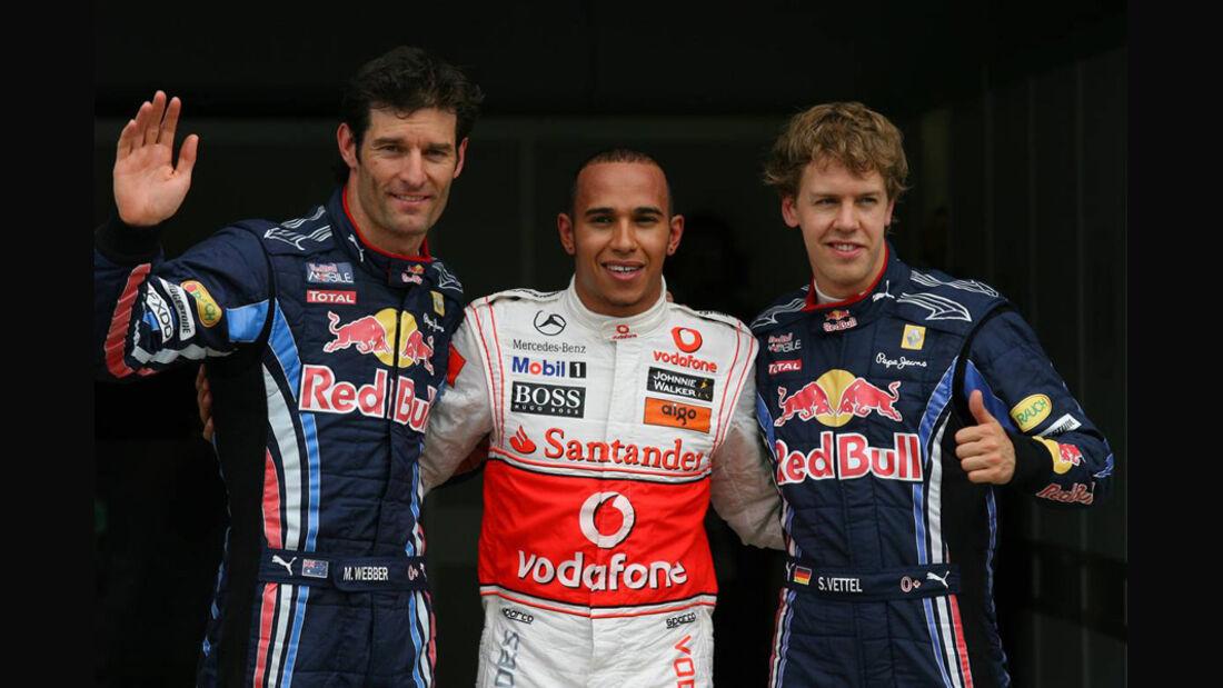 GP Kanada 2010 Qualifying Ergebnis