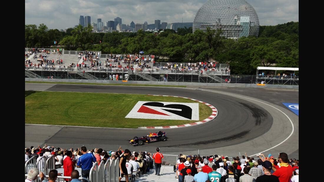 GP Kanada 2010 Red Bull